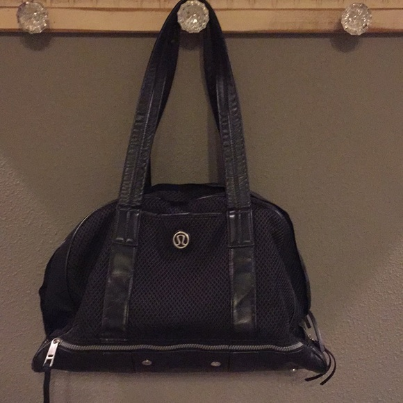 f288c10fd6c2 lululemon athletica Handbags - Lululemon Black Gym Bag
